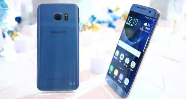 Galaxy S7 edge: arriva la colorazione Blue Coral
