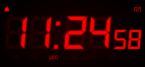 night stand clock