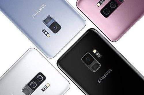 Samsung Galaxy S9 4 colorazioni