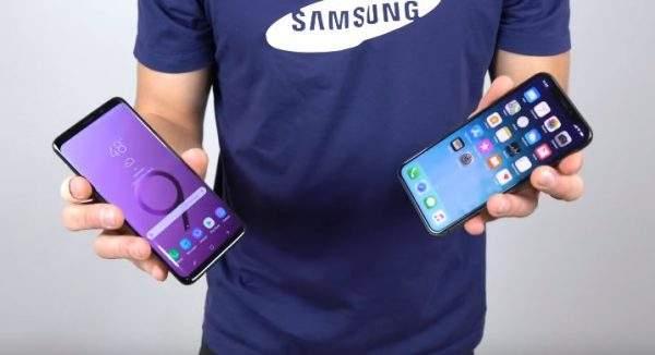 Samsung Galaxy S9+ vs iPhone X