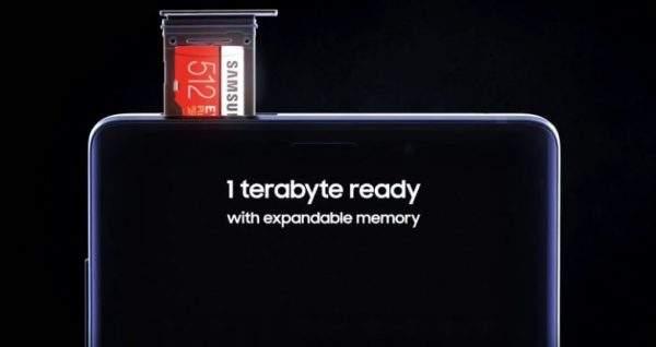 Samsung Galaxy Note 9 1 TB