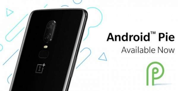 OnePlus 6 Android 9 Pie